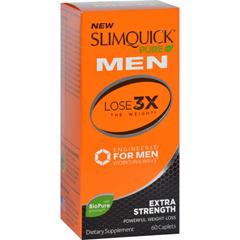 HGR1713460 - SlimQuickPure - Men - Extra Strength - 60 Capsules