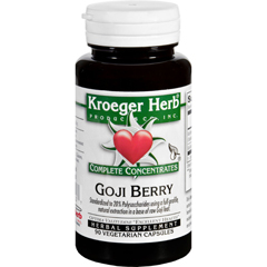 HGR1714732 - Kroeger HerbComplete Concentrate - Goji Berry - 90 Vegetarian Capsules