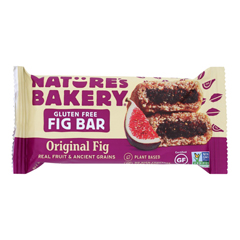 HGR1716000 - Nature's Bakery - Gluten Free Fig Bar - Original - Case of 12 - 2 oz..