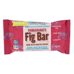 HGR1716026 - Nature's Bakery - Gluten Free Fig Bar - Pomegranite - Case of 12 - 2 oz..