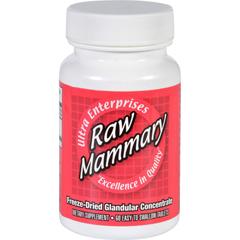 HGR1718634 - Ultra GlandularsMammary - Raw - 60 Tablets