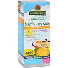 HGR1718725 - Nature's AnswerNatures Answer Sambucus - Kids Formula - Natural Orange Flavor - 8 oz