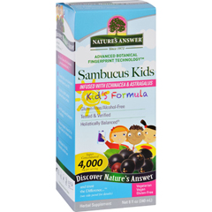 HGR1718758 - Nature's AnswerNatures Answer Sambucus - Kids Formula - Original Flavor - 8 oz