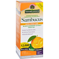 HGR1718774 - Nature's AnswerNatures Answer Sambucus - Original - Natural Orange Flavor - 8 oz
