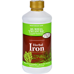 HGR1720937 - Buried TreasureHerbal Iron - 16 oz