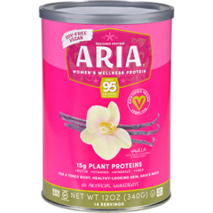 HGR1723139 - Designer WheyAria Womens Wellness Protein Powder - Vanilla - 12 oz