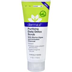 HGR1724814 - Derma E - Scrub - Purifying Daily Detox - 4 oz