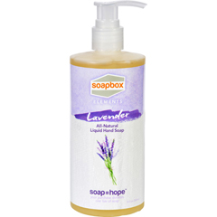 HGR1725126 - Soapbox ElementsSoapBox Hand Soap - Liquid - Elements - Lavender - 12 oz