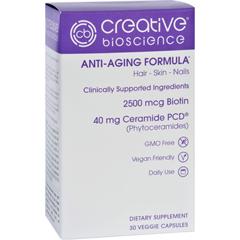 HGR1726140 - Creative BioscienceAnti-Aging Formula - 30 Vegetarian Capsules