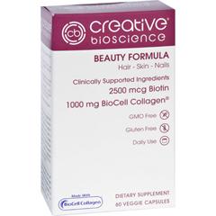 HGR1726157 - Creative BioscienceBeauty Formula - 60 Vegetarian Capsules