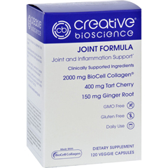 HGR1726181 - Creative BioscienceJoint Formula - 120 Vegetarian Capsules