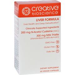 HGR1726199 - Creative BioscienceLiver Formula - 60 Vegetarian Capsules