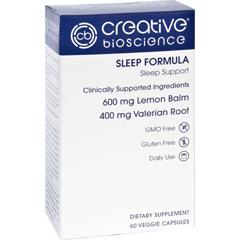 HGR1726207 - Creative BioscienceSleep Formula - 60 Vegetarian Capsules