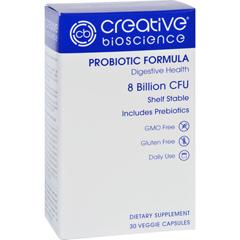 HGR1726231 - Creative BioscienceProbiotic Formula - 30 Vegetarian Capsules