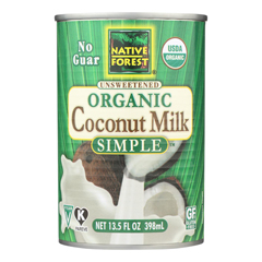 HGR1727767 - Native Forest - Organic Coconut Milk - Pure and Simple - Case of 12 - 13.5 fl oz.