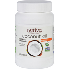 HGR1729540 - NutivaCoconut Oil - Organic - Superfood - Refined - 15 oz