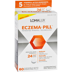 HGR1730639 - Loma Lux LaboratoriesAcne Eczema - Chewable - Quick Dissolving - 60 Count