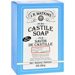 HGR1732833 - J.R. WatkinsBar Soap - Castile - Peppermint - 8 oz