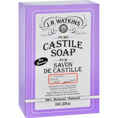 HGR1732841 - J.R. WatkinsBar Soap - Castile - Lavender - 8 oz