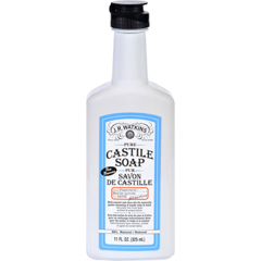 HGR1732866 - J.R. WatkinsHand Soap - Castile - Liquid - Peppermint - 11 oz