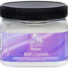 HGR1736602 - White EgretBath Crystals - Relax - 16 oz