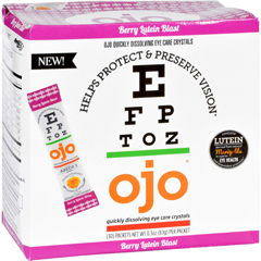 HGR1739002 - OjoEye Care Crystals - Berry Lutein Blast - 30 Packets