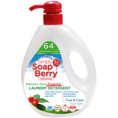 HGR1743723 - Simply SoapBerryLaundry Detergent - Free & Clear - 32 oz. - 64 Loads