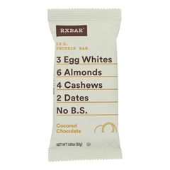 HGR1747948 - Rxbar - Protein Bar - Coconut Chocolate - Case of 12 - 1.83 oz..