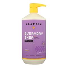 HGR1754209 - Alaffia - Everyday Lotion - Lavender - 32 oz..