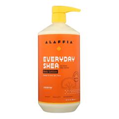 HGR1754217 - Alaffia - Everyday Lotion - Shea Unscented - 32 oz..