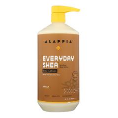 HGR1754225 - Alaffia - Everyday Lotion - Shea Vanilla - 32 oz..