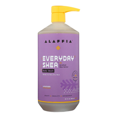 HGR1754258 - Alaffia - Everyday Body Wash - Shea Lavender - 32 oz..
