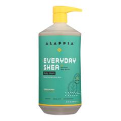 HGR1754266 - Alaffia - Everyday Body Wash - Shea Vanilla - 32 oz..