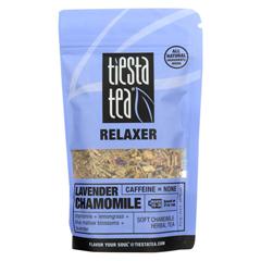 HGR1765288 - Tiesta Tea - Relaxer Tea - Lavender Chamomile - Case of 6 - 0.9 oz..