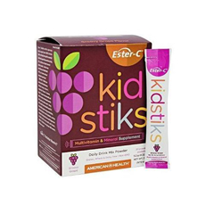 HGR1766450 - American Health - Ester-C - Kid Stiks - Groovy Grape - 30 Packets