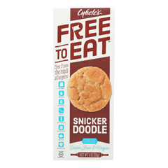 HGR1767854 - Cybel's Free to Eat - Snickerdoodle Cookies - Case of 6 - 6 oz..