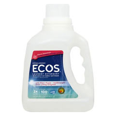 HGR1771849 - Earth Friendly - 2X Ultra Laundry Detergent - Fresh Geranium - Case of 4 - 100 FL oz..