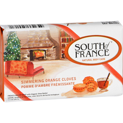 HGR1772284 - South of FranceBar Soap - Simmering Orange Cloves - Limited Edition Holiday - 3.5 oz - Case of 6