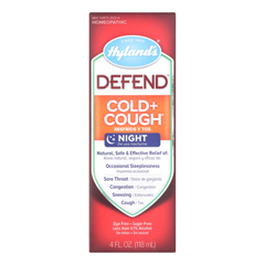 HGR1774397 - Hyland'sDefend - Cold and Cough - Case of 1 - 4 Fl oz.