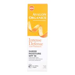 HGR1779677 - AvalonIntense Defense Sheer Moisture - SPF 10 - Case of 1 - 1.75 oz.
