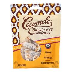 HGR1785773 - Cocomel - Organic Coconut Milk Caramels - Vanilla - Case of 6 - 3.5 oz..