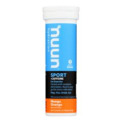 HGR1785898 - Nuun Hydration - Nuun Energy - Mango Orange - Case of 8 - 10 Tablets