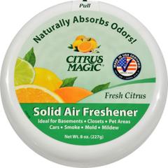 HGR1788892 - Citrus Magic - Air Freshener - Odor Absorbing - Solid - Fresh Citrus - 8 oz