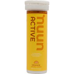 HGR1791342 - Nuun Hydration - Drink Tab - Active - Orange - 10 Tablets - Case of 8