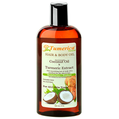 HGR1791417 - TumericaHair and Body Oil - Coconut - Turmeric - 8 oz