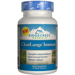 HGR1792522 - RidgeCrest HerbalsClearLungs™ - Immune - 60 Vegan Capsules