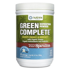 HGR1793405 - Nutrex HawaiiGreen Complete Superfood Powder - 6.7 oz (25 Servings)