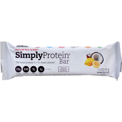 HGR1793694 - SimplyProteinProtein Bar - Lemon Coconut - 1.41 oz - Case of 12