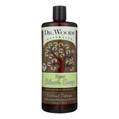 HGR1794312 - Dr. WoodsNaturals Black Soap - Shea Vision - Coconut - 32 oz