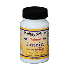 HGR1794346 - Healthy OriginsLutein - Natural - Lutemax 2020 - 20 mg - 60 Vegetarian Softgels